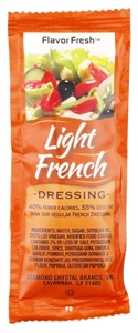 Flavor Fresh Light French Dressing Pouch - 12 Gr.