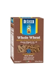 De Cecco Enriched Macaroni Penne Rigate 100 Percent Whole Wheat - 13.25 Oz.
