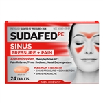 Sudafed Pe Pressure and Pain Caplets