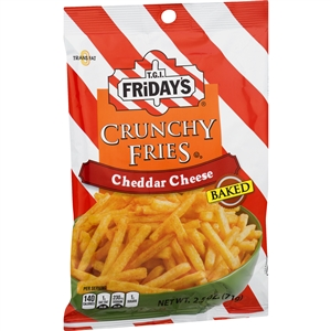 Tgi Fridays Cheddar Cheese Crunchy Fries - 2.5 oz.