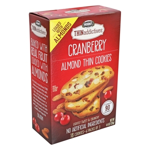 Thin Addictives Cranberry Almond - 4.4 Oz.