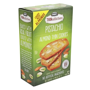 Thin Addictives Pistachio Almond - 4.4 Oz.