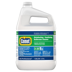 Comet Bath Cleaner Disinfectant Refill With Spray Bottle - 1 Gal.
