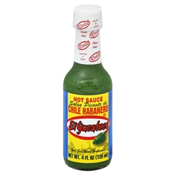 El Yucateco Green Habanero Hot Sauce - 4 oz.