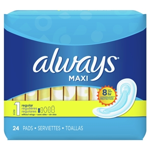 Always Maxi Regular Nonwing Pads