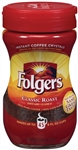 Folgers Caffeinated Instant Regular - 3 oz.