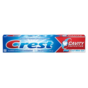 Crest Cavity Protection Gel Toothpaste - 6.4 Oz.