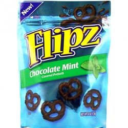 Flipz Pretzel Chocolate Mint Candy - 4 Oz.