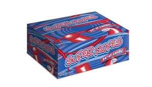 Super Ropes Rollin Red Display - 2 oz.