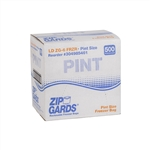 ZipGards Disposable Reclosable Zipper Bags Clear - 6.5 in. x 6 in.
