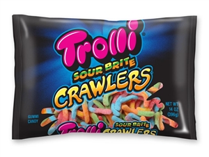 Sour Bright Crawlers Candy - 14 oz.