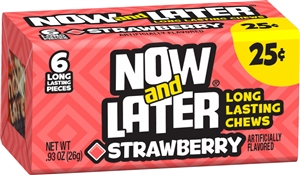 Candy Now and Later Strawberry