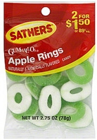 Sathers Gummallos Apple Rings