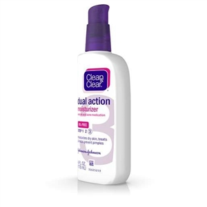 Clean and Clear Dual Action Moisturizer - 4 fl.oz.