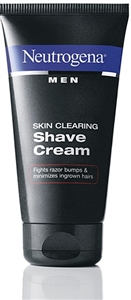 Neutrogena Skin Clearing Shave Cream - 5.1 fl.oz.