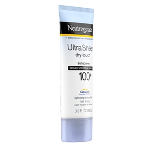 Neutrogena Ultra Sheer Lotion Spf 100 - 3 fl.oz.