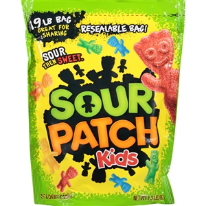 Sour Patch Kids Candy Bag - 1.9 Pound