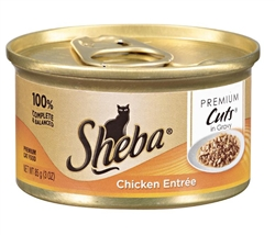 Sheba Premium Cuts Chicken Entree - 3 oz.