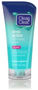 Clean and Clear Deep Action Cleansing Scrub - 5 oz.