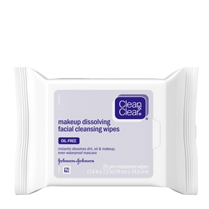 Clean and Clear Make Up Remover Cleansing Wipes