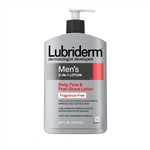 Lubriderm Men 3 In 1 Fragrance Free Lotion - 16 fl.oz.