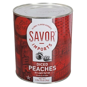 Savor Peaches Diced Light Syrup