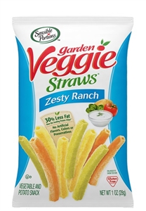 Garden Vegetable Straws Zesty Ranch - 5 oz.