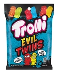 Trolli Evil Twins Gummies Peg Candy - 4.25 oz.