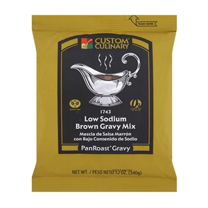 Panroast Brown Low Sodium Gravy Mix - 12 oz.
