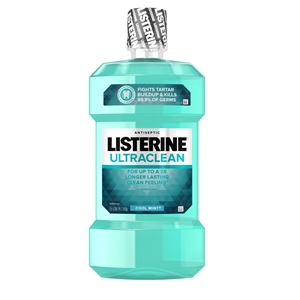 Listerine Ultra Clean Cool Mint Mouth Wash - 50.7 fl.oz.