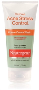 Neutrogena Acne Control Cream Wash - 6 fl.oz.