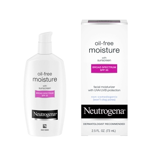 Neutrogena Oil Free Moisturizer Lotion - 2.5 Fl. Oz.