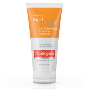 Neutrogena Rapid Clear Control Foaming Cleanser - 6 fl.oz.