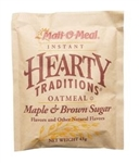 Hearty Instant Oatmeal Traditional Maple and Brown Sugar  - 1.51 Oz.