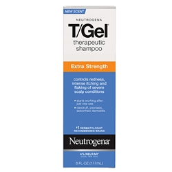 Neutrogena T Gel Extra Strength Shampoo - 6 fl.oz.