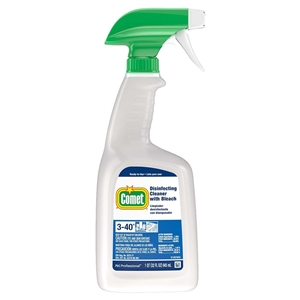 Comet Cleaner With Bleach Bottle With Foil Seal - 32 oz.