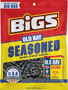 Bigs Sunflower Seeds Old Bay Catch Of The Day - 5.35 Oz.