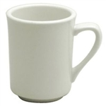 Buffalo Cream White Mug Delmonico - 8 Oz.