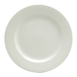 Buffalo Cream White Plate Rolled Edge - 5.5 in.