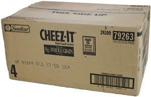 Cheez-It Original Whole Grain Cracker - 0.75 oz.