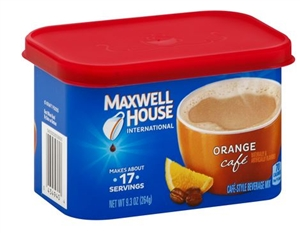 Maxwell House International Cafe Coffee Orange - 9.3 Oz.