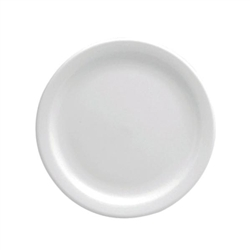 Buffalo Bright White Narrow Rim Plate - 5.5 in.