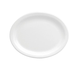 Buffalo Bright White Narrow Rim Platter - 11.5 in.