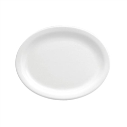 Buffalo Bright White Narrow Rim Platter - 13.13 in.