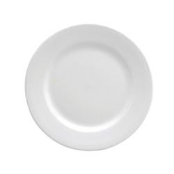 Buffalo Bright White Rolled Edge Plate - 5.5 in.