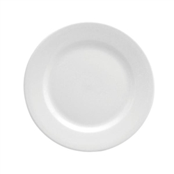 Buffalo Bright White Rolled Edge Plate - 6.25 in.