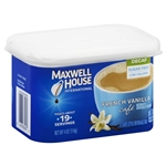 Maxwell House French Vanilla Decaffeinated Instant Drink - 4 Oz.