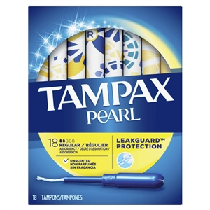 Tampax Pearl Regular Unscented