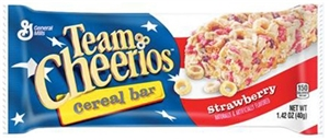 Cereal Bar Team Cheerios Strawberry - 1.42 Oz.