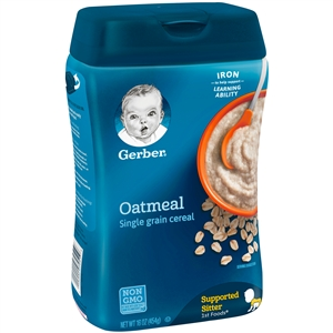 Gerber Cereal Oatmeal Multipack - 16 Oz.